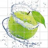 Autocolante Azulejo maçã