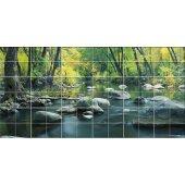 Autocolante Azulejo rio