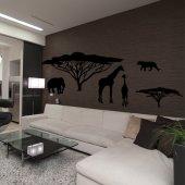 Autocolante decorativo África