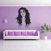 Autocolante decorativo Amy Winehouse