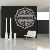 Autocolante decorativo asiático