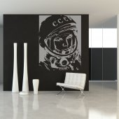 Autocolante decorativo astronauta