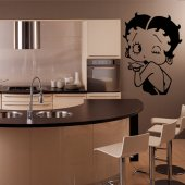 Autocolante decorativo Betty Boop