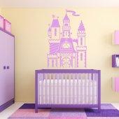 Autocolante decorativo Castelo