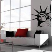 Autocolante decorativo EUA.
