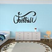 Autocolante decorativo futebol