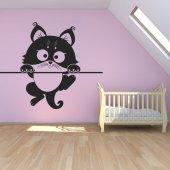 Autocolante decorativo gato