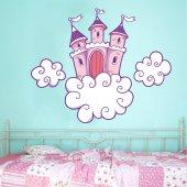 Autocolante decorativo infantil Castelo