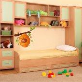 Autocolante decorativo infantil colméia