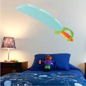 Autocolante decorativo infantil espada