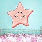 Autocolante decorativo infantil estrela