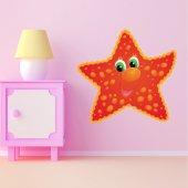 Autocolante decorativo infantil estrela do mar