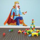 Autocolante decorativo infantil príncipe