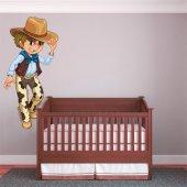 Autocolante decorativo infantil vaqueiro