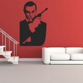 Autocolante decorativo james bond