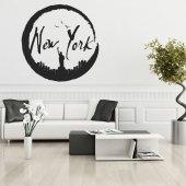 Autocolante decorativo New York