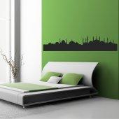 Autocolante decorativo paisagem oriental