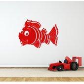 Autocolante decorativo peixe