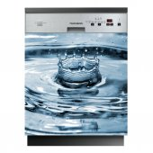 Autocolante Lava-louças água