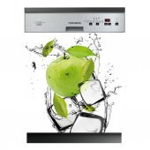 Autocolante Lava-louças maçã