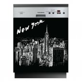 Autocolante Lava-louças New York