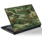 Autocolante para computador portátil camuflagem