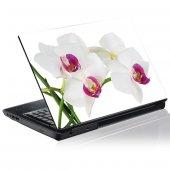 Autocolante para computador portátil orquídea