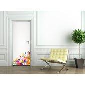 Autocolante para porta design