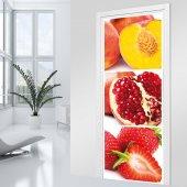 Autocolante para porta Fruta