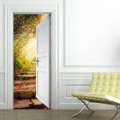 Autocolante para porta natureza