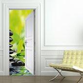 Autocolante para porta Zen