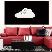 Autocolante velleda nuvens