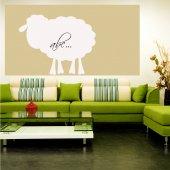Autocolante velleda ovelha