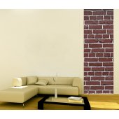 Banner Brick Wall Sticker