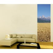 Banner Fields Wall Sticker
