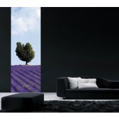 Banner Lavender Wall Sticker