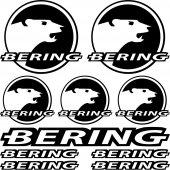 Bering Aufkleber-Set