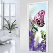 Butterfly Door Stickers