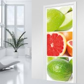 Citrus Door Stickers