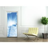 Clouds Door Stickers