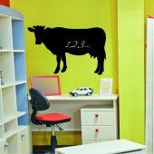 Cow - Chalkboard / Blackboard Wall Stickers