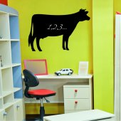 Cow - Chalkboard / Blackboard Wall Stickers