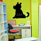 Dog Chalkboard / Blackboard Wall Stickers