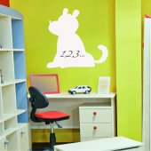 Dog Whiteboard Wall Stickers