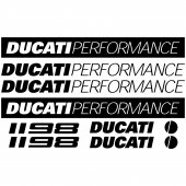 Ducati 1198 Decal Stickers kit