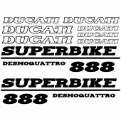 Ducati 888 Desmo Aufkleber-Set