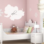 Elephant - Whiteboard Wall Stickers