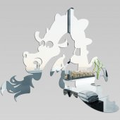 Espejos decorativo Acrílico Pléxiglas  dragón