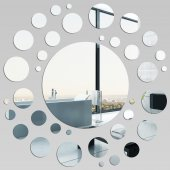Espejos decorativo Acrílico Pléxiglas  espiral