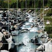 Fliesenaufkleber Fluss